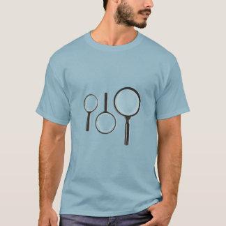 sistema de la lupa camiseta