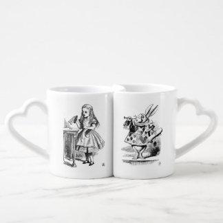 Sistema de la taza de Alicia y del conejo