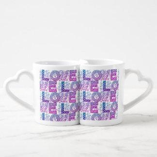 Sistema de la taza de café del amor