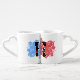 Sistema de la taza de Coffe del par