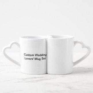Sistema de la taza de los amantes de encargo del taza para enamorados