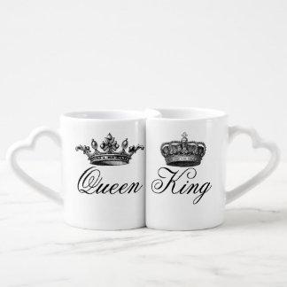 Sistema de la taza del rey y de la reina