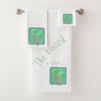 Sistema de la toalla de la palmera