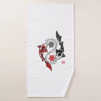 Sistema de la toalla de los pescados de Yin Yang