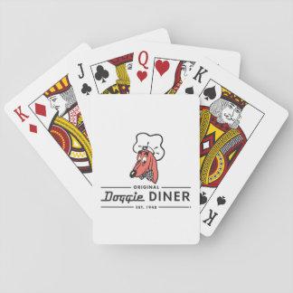 Sistema de naipe con el logotipo famoso del baraja de cartas