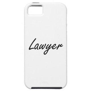 Sistema de trabajo artístico del abogado iPhone 5 Case-Mate cárcasas