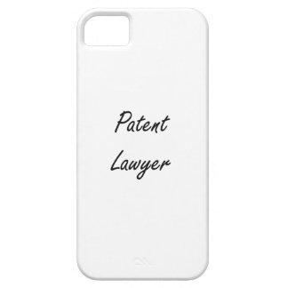 Sistema de trabajo artístico del abogado patentado funda para iPhone 5 barely there