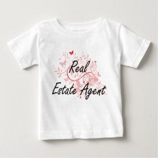 Sistema de trabajo artístico del agente camiseta de bebé