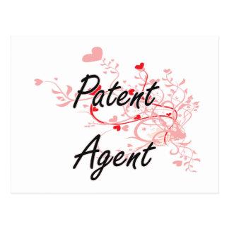 Sistema de trabajo artístico del agente de patente postal