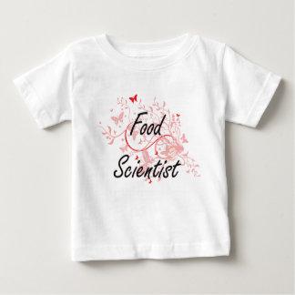 Sistema de trabajo artístico del científico de la camiseta para bebé