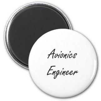 Sistema de trabajo artístico del ingeniero de la imán redondo 5 cm