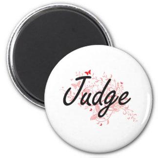 Sistema de trabajo artístico del juez con las imán redondo 5 cm