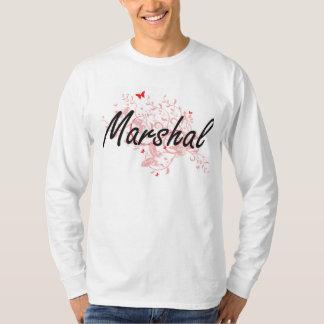 Sistema de trabajo artístico del mariscal con las camisetas