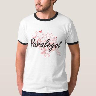 Sistema de trabajo artístico del Paralegal con las Camisetas