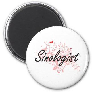 Sistema de trabajo artístico del Sinologist con Imán Redondo 5 Cm