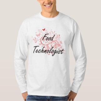 Sistema de trabajo artístico del tecnólogo de la camisetas