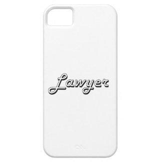 Sistema de trabajo clásico del abogado iPhone 5 Case-Mate cárcasas