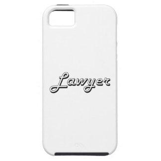 Sistema de trabajo clásico del abogado iPhone 5 Case-Mate cárcasa
