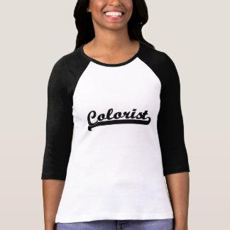 Sistema de trabajo clásico del Colorist Camisetas