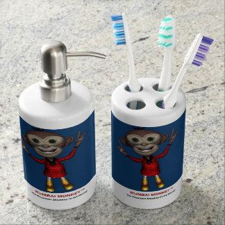Sistema del dispensador del tenedor y del jabón