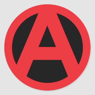 Sistema del pegatina de la anarquía
