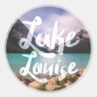 Sistema del pegatina de la serie 01 de Lake Louise