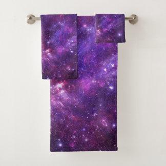 Sistema gráfico de la toalla del cuarto de baño de