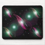 Sistema Solar de la fantasía encendida Alfombrillas De Raton