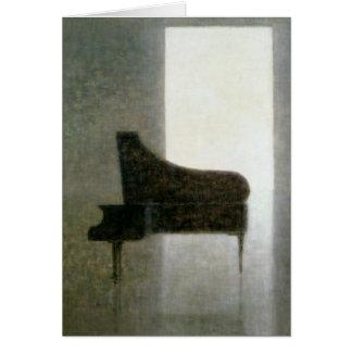 Sitio 2005 del piano tarjeta de felicitación