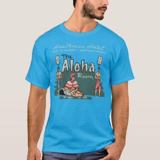 Sitio de la hawaiana camiseta