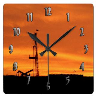 Sitio del aparejo de la paliza en el reloj de la