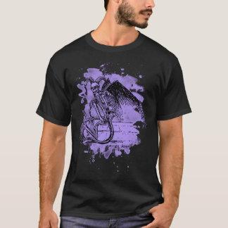 Sitting Demon - bleached violet Camiseta