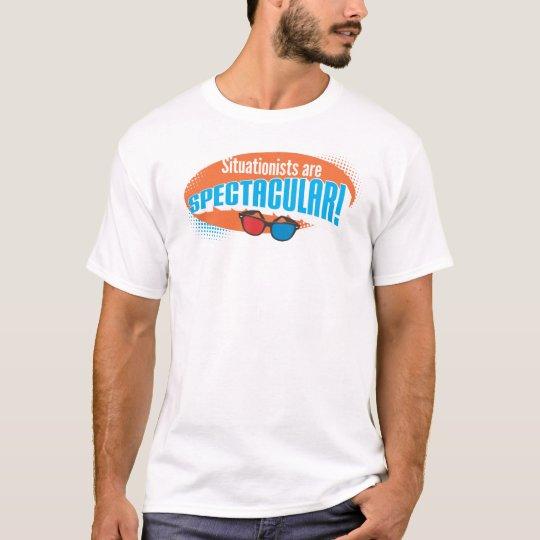 ¡Situationists es espectacular! Camiseta