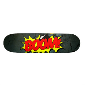 Skateboard Auge - muestra/monopatín cómicos