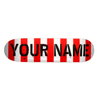 Skateboard Cubierta de encargo del monopatín: Personalice con