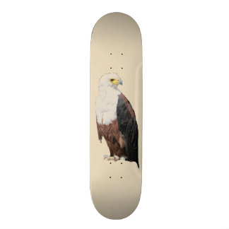 Skateboard Eagle calvo americano