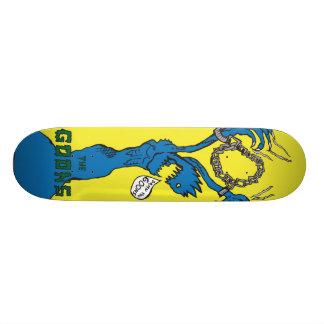 Skateboard Encadenado