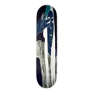 Skateboard Favorable cubierta del truco de los azules cielos