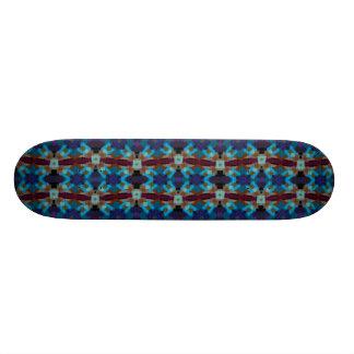 Skateboard Ornamento bohemio en ethno-estilo, Azteca