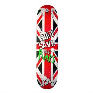 Skateboard Reserva de dios el Pin de seguridad de Union Jack