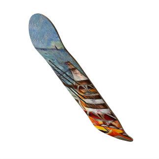 Skateboard Serie tropical