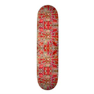 Skateboard Tablero de encargo del parque de la firma de
