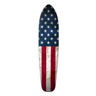 Skateboard Tablero largo de encargo del crucero americano del