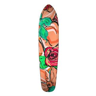 Skateboard Tablero largo de la favorable persona que practica