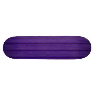 Skatedeck rayado púrpura y negro oscuro monopatin
