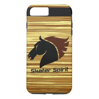 Skater Spirit 7 signo_máss iPhone funda con modelo