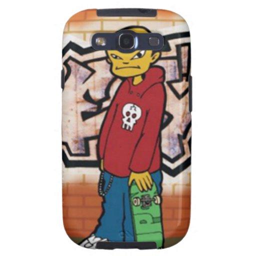 Skater urbano - caja de la galaxia S3 de Samsung Samsung Galaxy S3 Carcasas