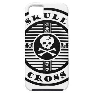 skull cross iPhone 5 carcasas