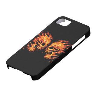 Skull - Death Head Devil - iPhone 5 Carcasas