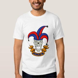 skull joker camiseta